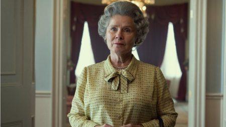 Imelda Staunton pictured as Queen