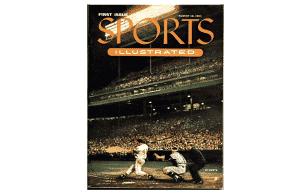 Eddie Mathews 1954 first cover magazine