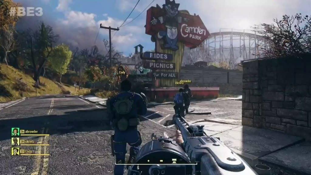 Fallout 76 Cross-Platform